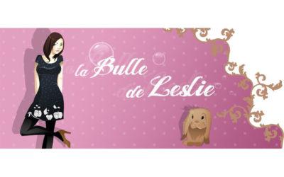 Bannière//La bulle de Leslie