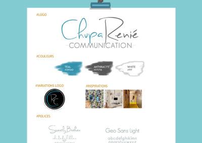 Identité Visuelle// Chupa Renié Communication