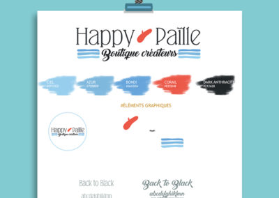 Identité visuelle// Happy Paille