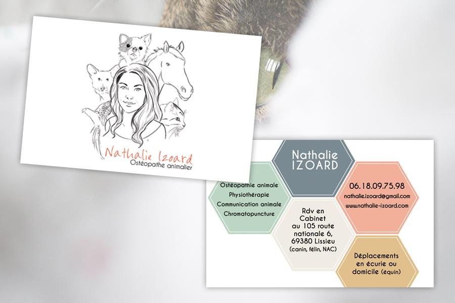 Nathalie Izoard -  Cartes de visite