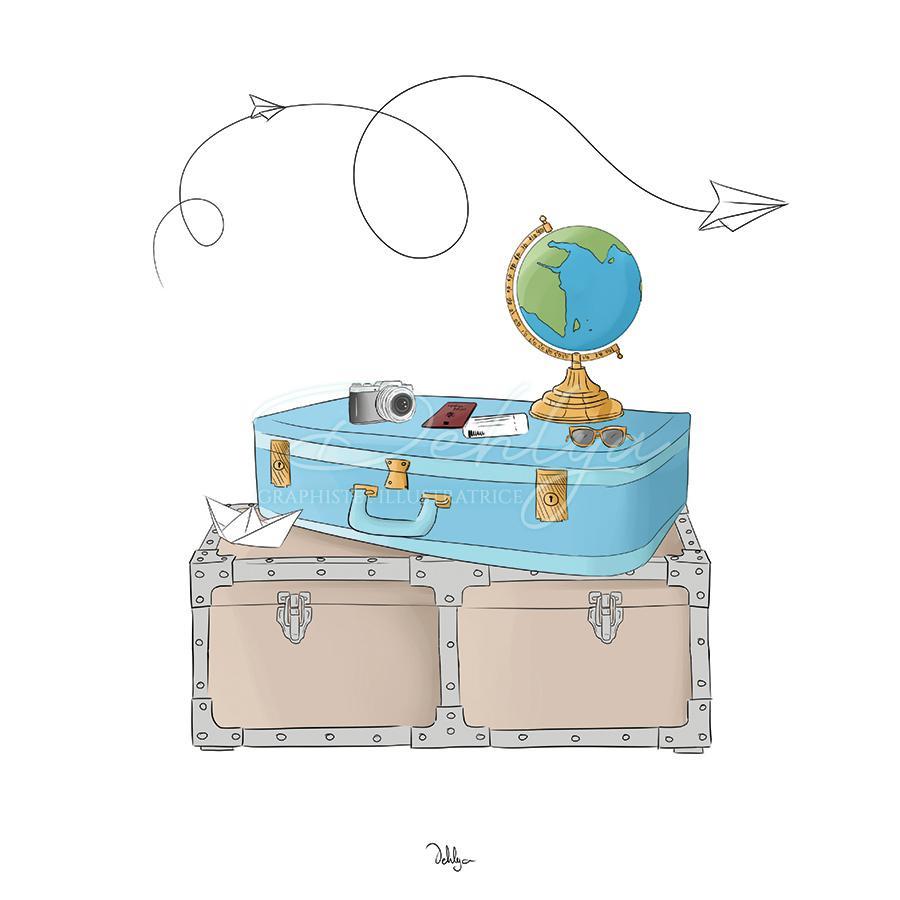 Voyage pour Happy Paille