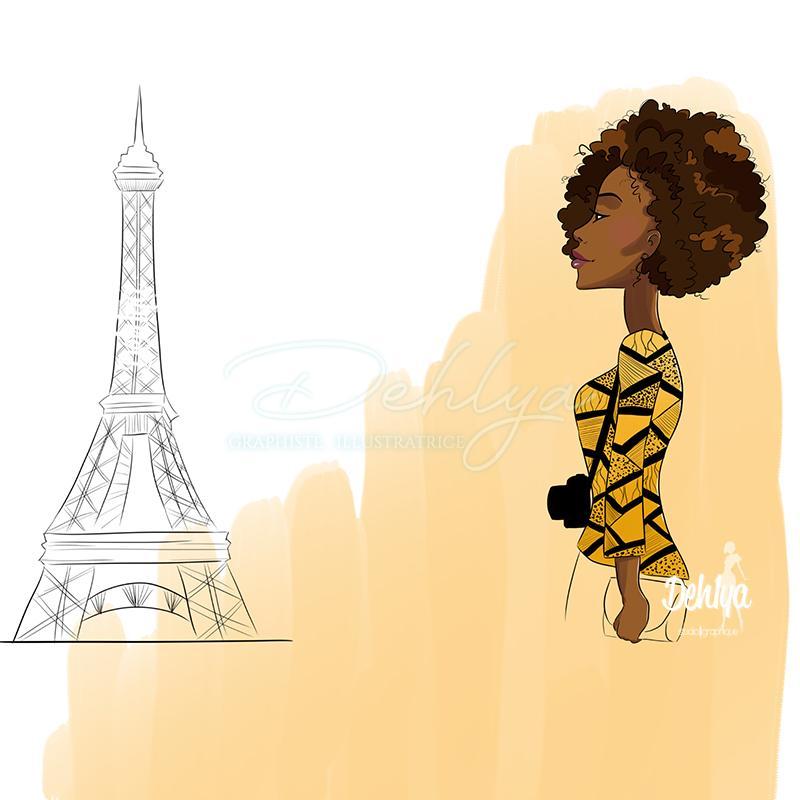 Illustration concours international Boucle d'ébènes
