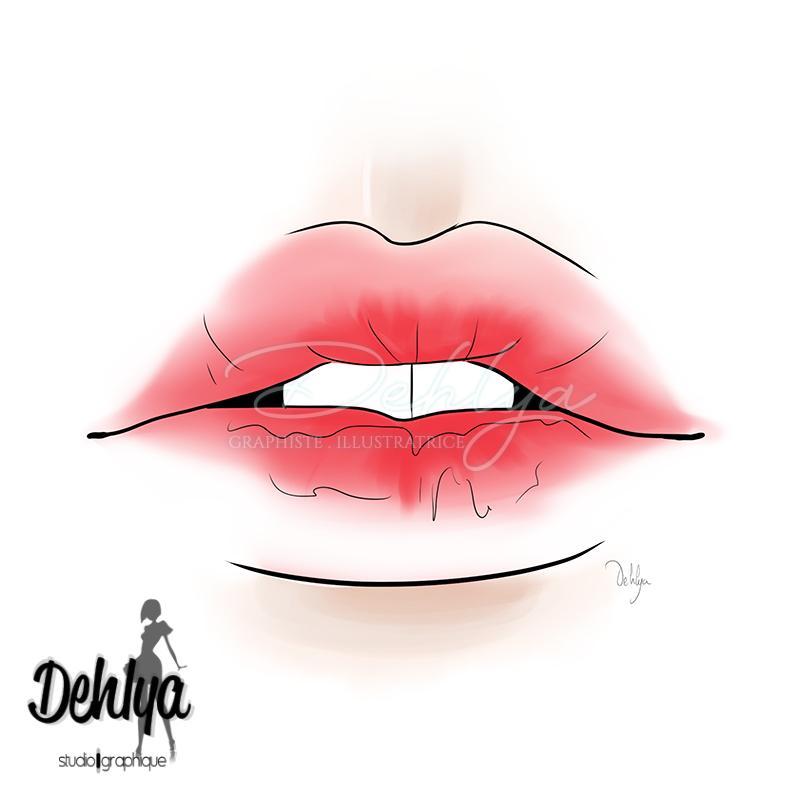 Lips - Réalisé pour le magazine Sweet Time
