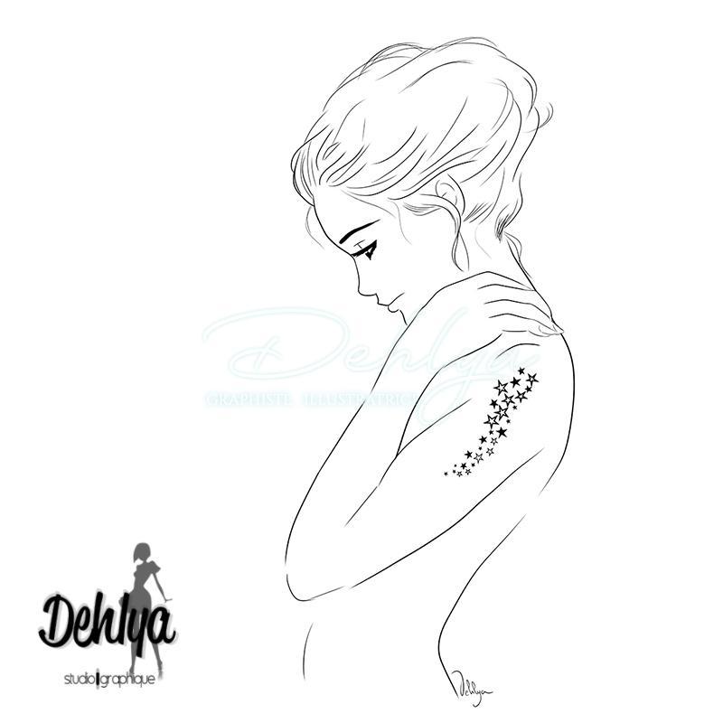 Tattoo - Réalisé pour le magazine Sweet Time