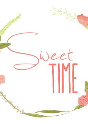 Identité visuelle// Sweet Time