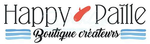 Projets // Création du logo Happy Paille, la boutique