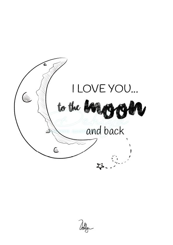Citation//To the moon and back