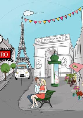 Illustration// Paris