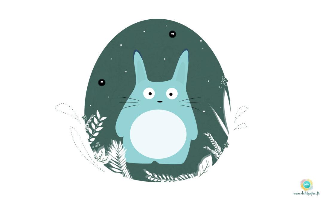 Fond d'écran Totoro