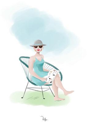 Illustration// Sweetie d'été