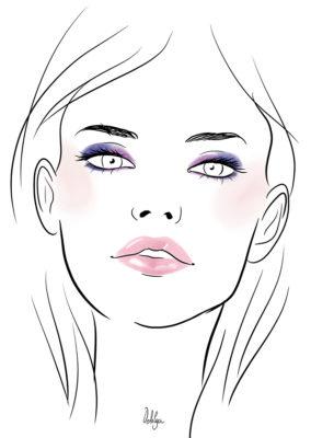 Illustration// Facecharts