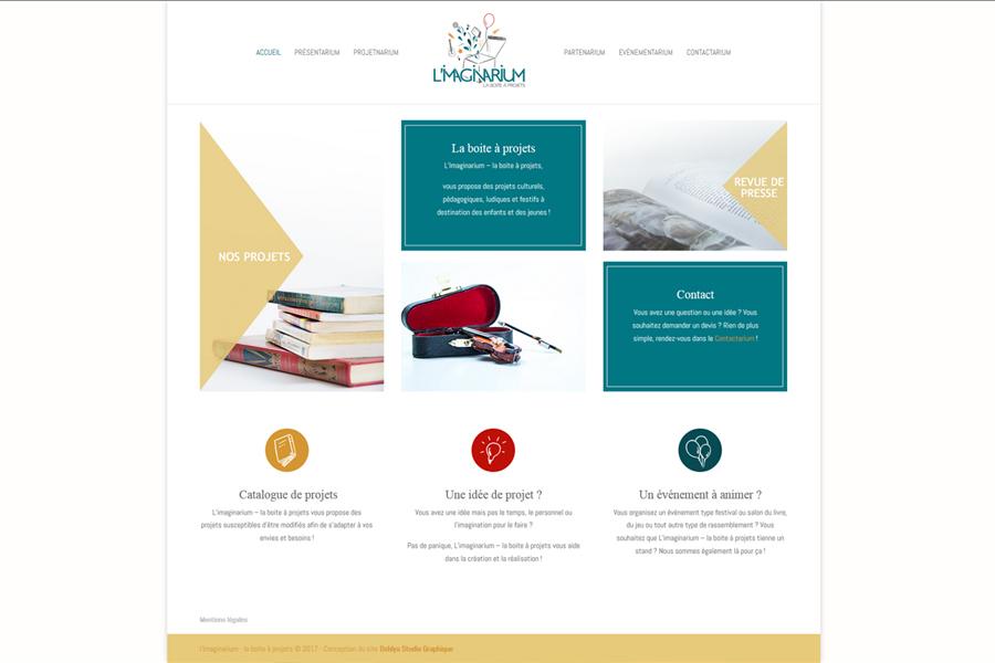 L'Imaginarium - Site web