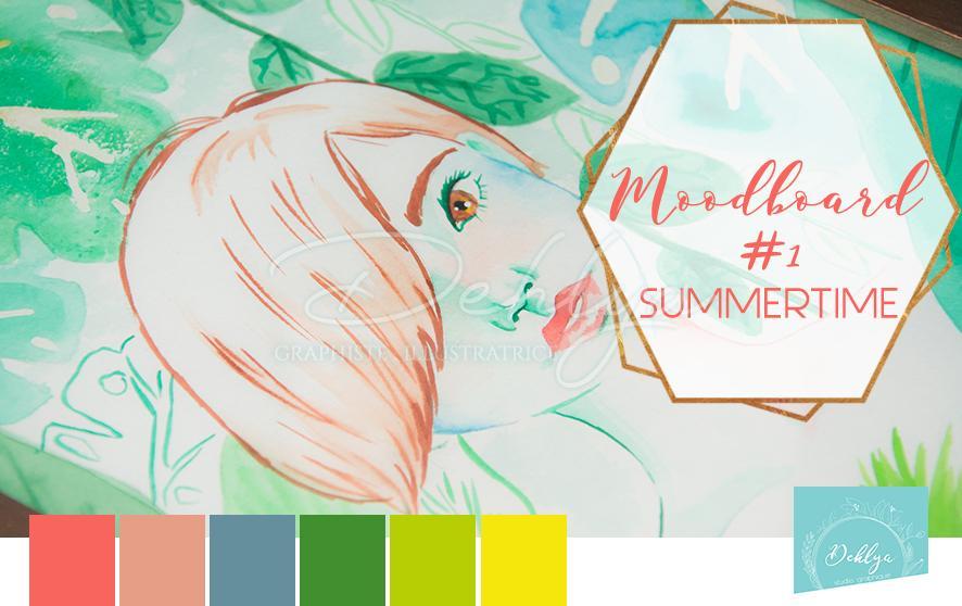 Moodboard # 01// Summertime