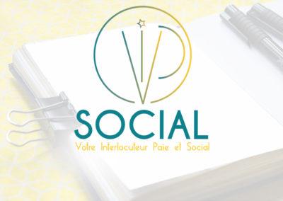 Identité Visuelle // VIP social