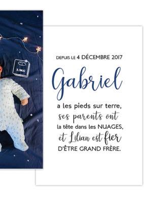 Naissance// Gabriel