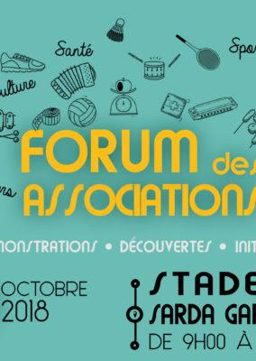 Affiche// Forum des associations de Saint André