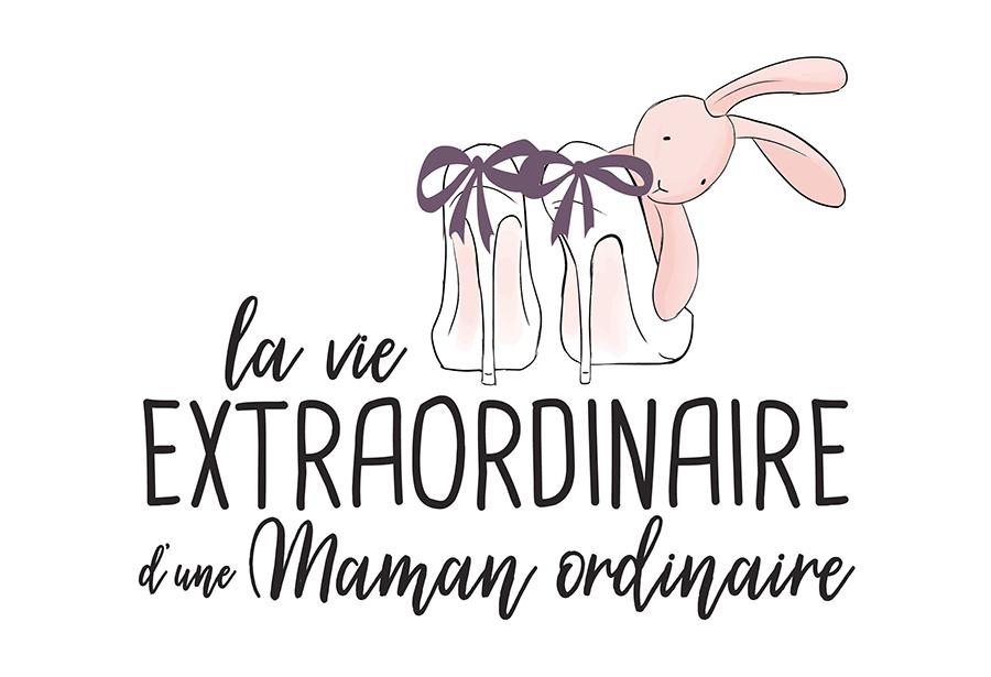 Identité visuelle// La vie extraordinaire d'une maman ordinaire