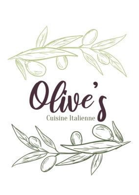 Identité visuelle/ Olive's – Cuisine Italienne