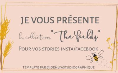"Freebie// Les fonds Stories ""The Fields"""