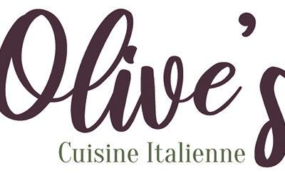 Cas pratique// Identité visuelle du restaurant Olive's