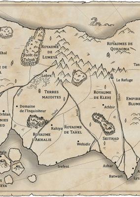 Carte/ La Dernière Guerre