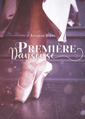 """Couverture (fictive) de roman """" première Danseuse"""""""